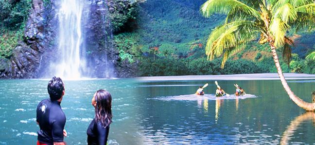 Outfitters Kauai - Paddle Jungle Stream on Wailua River