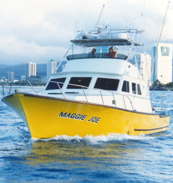 Maggie joe inter island sportfishing hawaii activities for Bottom fishing oahu