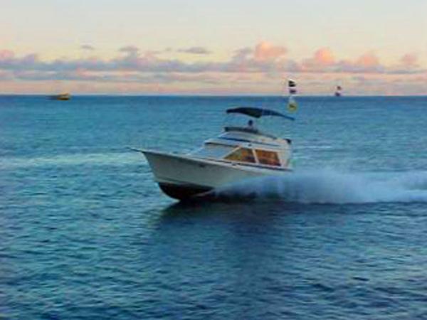 Inter island sportfishing sea hawk for Deep sea fishing oahu